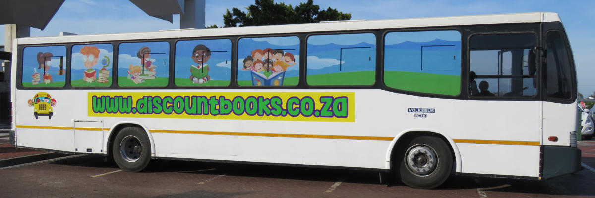Discount Books - Book Bus Exterior